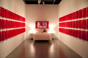 34_ The Husbands and I-installation