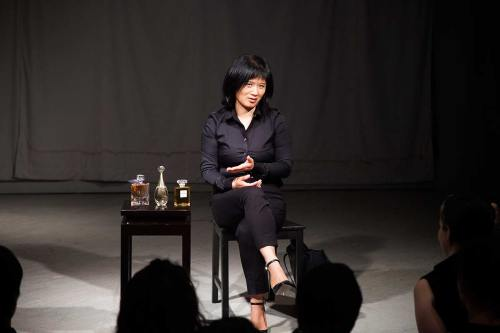 Chun Hua Catherine Dong introduces her expensive perfumes and tells stories about her life related to shame